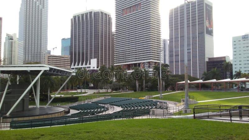 Bayfront park zdjęcia stock