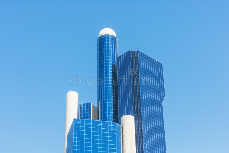 Baynunah Hilton Tower i Abu Dhabi arkivfoton
