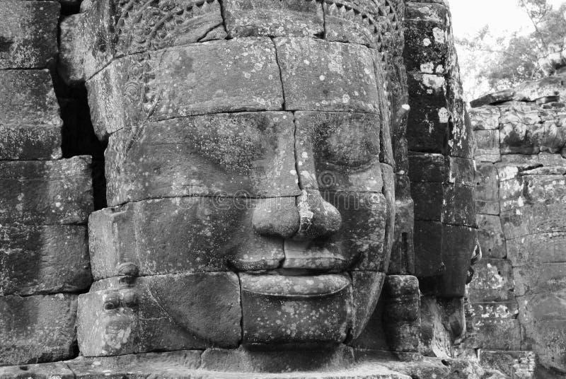 bayon świątyni fotografia royalty free