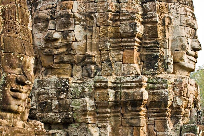 bayon πύργος της Καμπότζης στοκ εικόνες με δικαίωμα ελεύθερης χρήσης