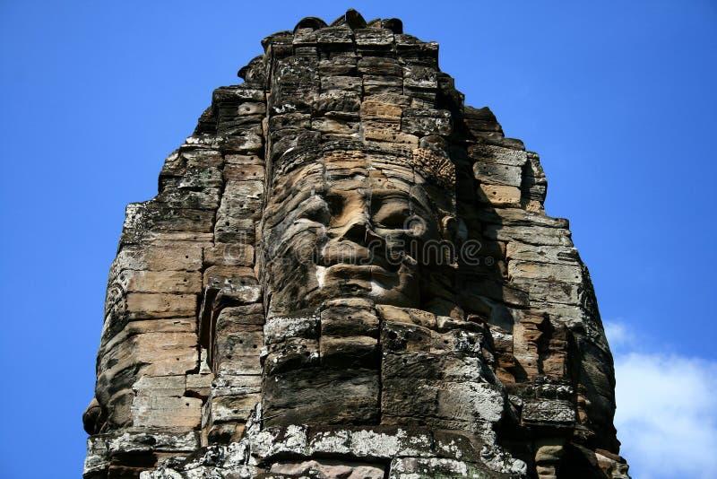 The Bayon,Angkor,Cambodia stock images