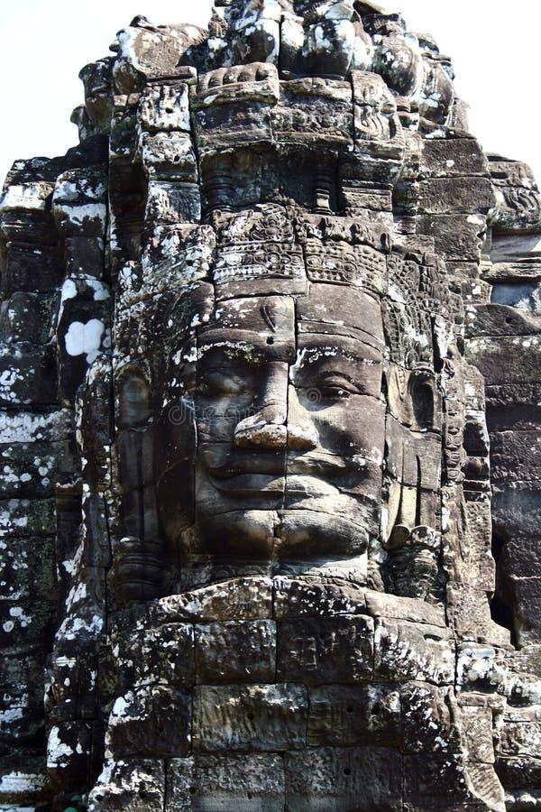 The Bayon, Angkor, Cambodia royalty free stock photography