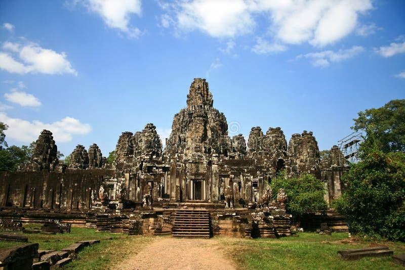 The Bayon,Angkor,Cambodia stock image