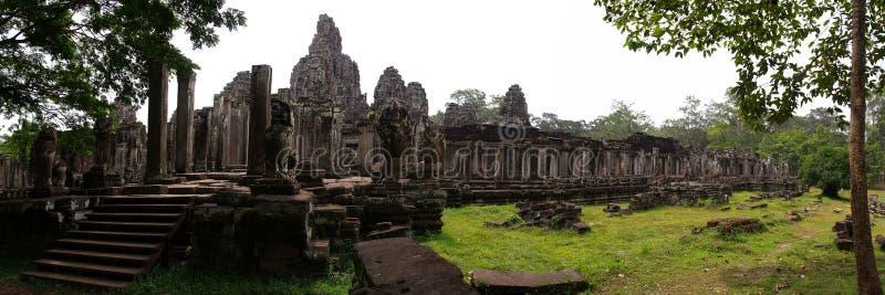Bayon, Angkor Thom, Siem oogst royalty-vrije stock foto