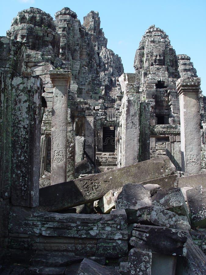bayon Cambodia obraz royalty free