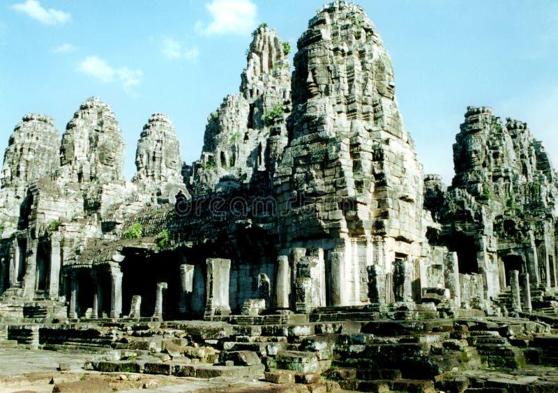 The bayon complex in Angkor, Cambodia