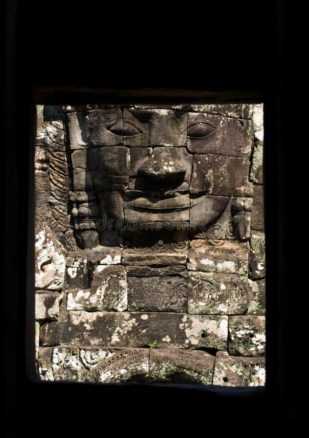Bayon, Kambodja stock foto's