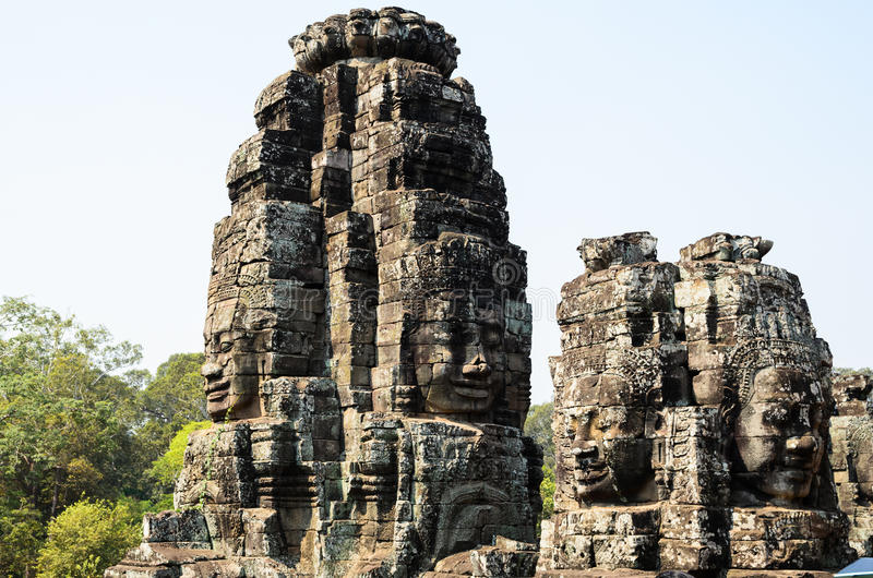 The Bayon royalty free stock images