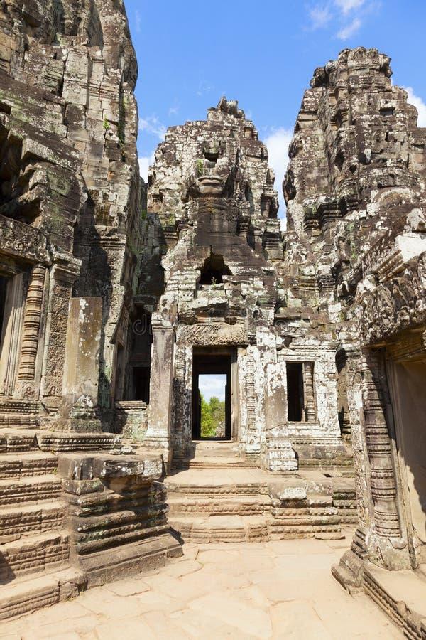 Bayon tempel fotografering för bildbyråer