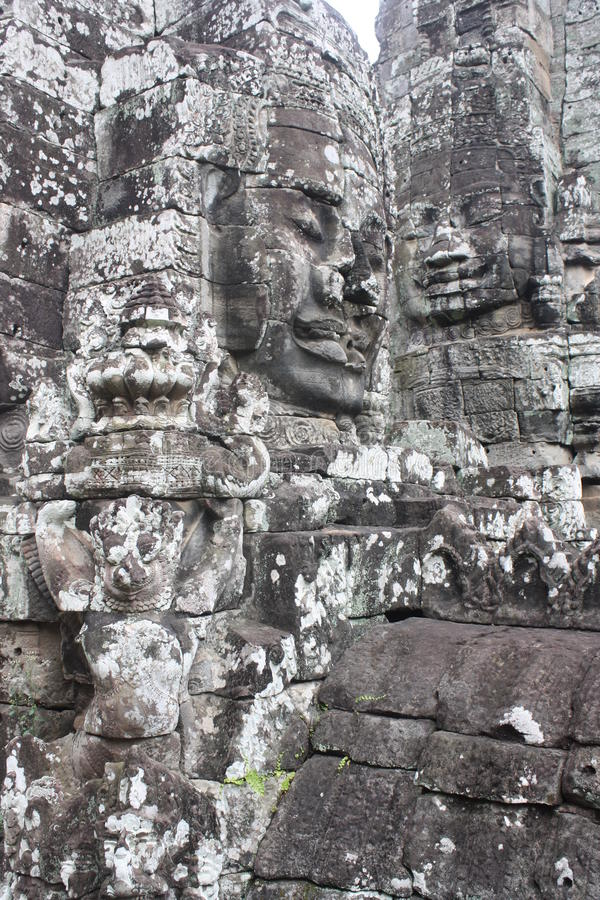 Download Bayon Temple stock image. Image of reap, carving, temple - 24307929