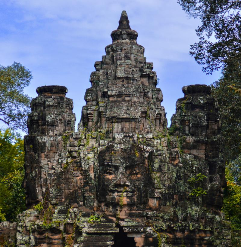 Bayon Temple royalty free stock photo