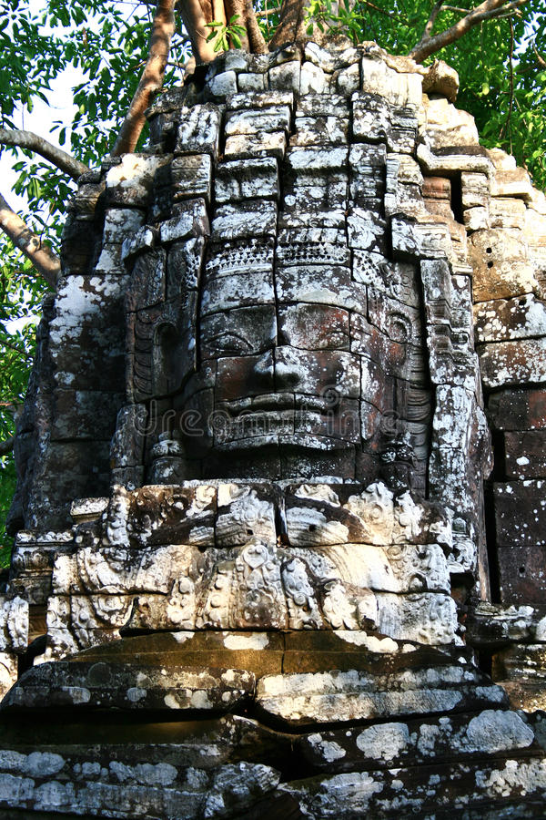 Bayon Temple, Angkor royalty free stock photos