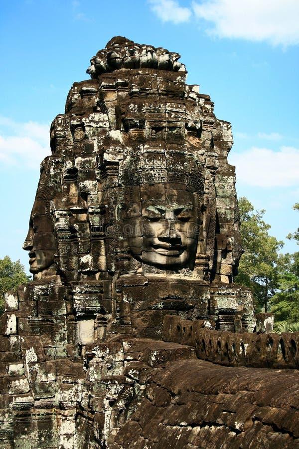 Bayon Temple, Cambodia stock image