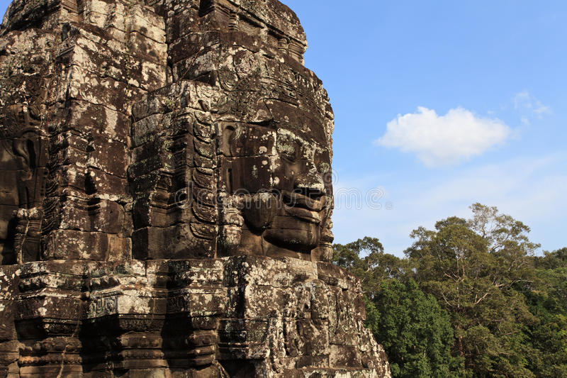 Download Bayon Temple In Cambodia Royalty Free Stock Image - Image: 25944626
