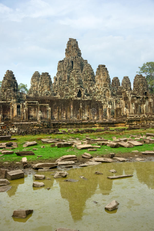 Bayon Temple, Cambodia stock photos