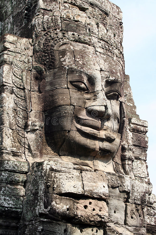 Free Bayon Temple In Cambodia Royalty Free Stock Image - 5773216