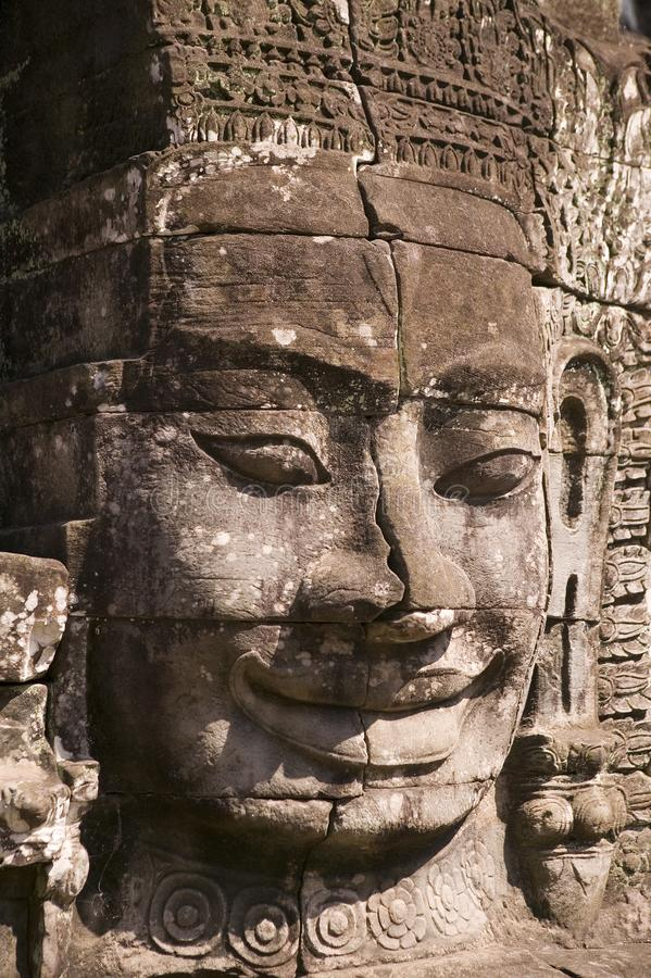 Download Bayon Temple in Siem Reap stock photo. Image of statue - 6584850