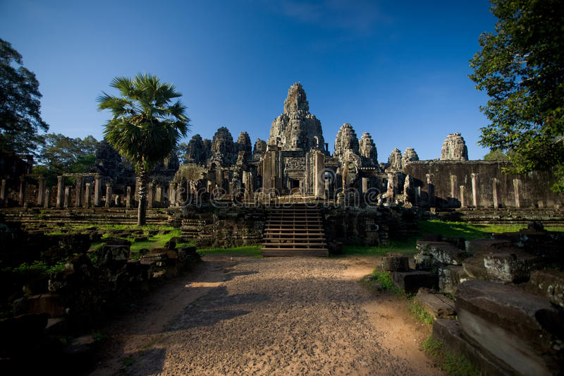 Download Bayon Temple Wide Entrance Path Stock Images - Image: 17287354