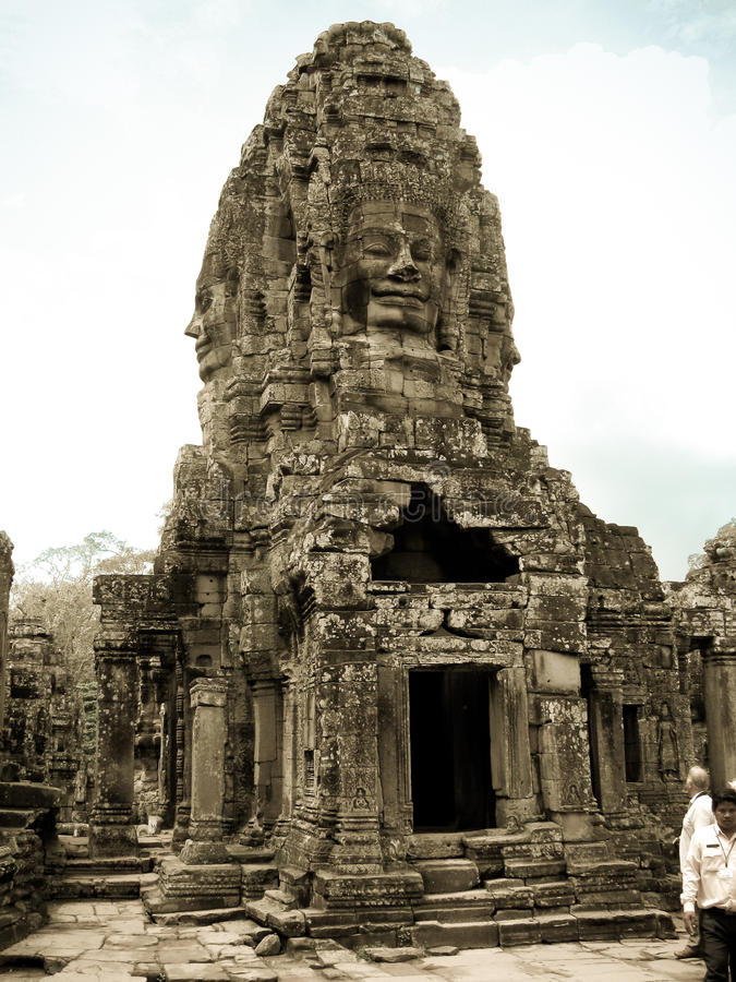 Bayon tower royalty free stock images