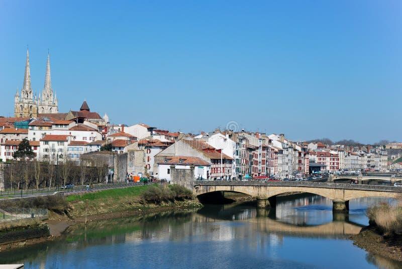 Bayonne em France fotos de stock