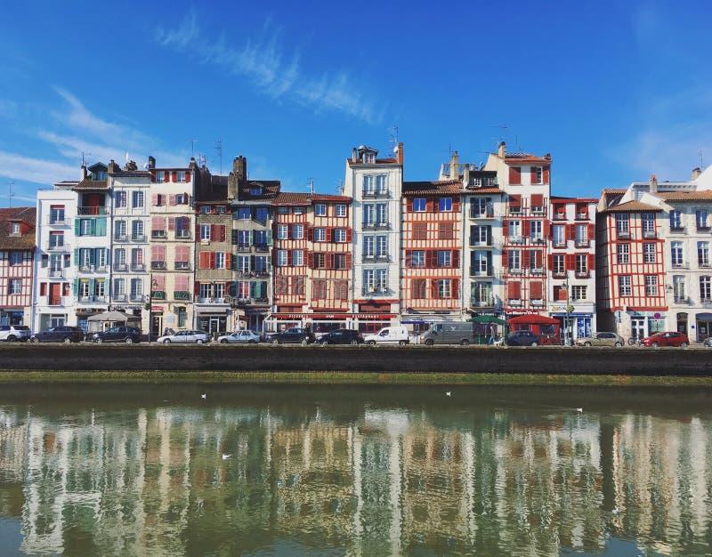 Bayonne, Francja obraz royalty free