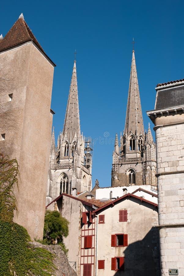 bayonne katedra obrazy stock