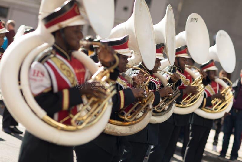 Bayou-Klassiker-Parade lizenzfreie stockfotografie