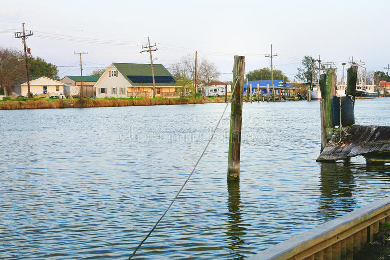 Bayou Lafourche, Louisiana royalty free stock images