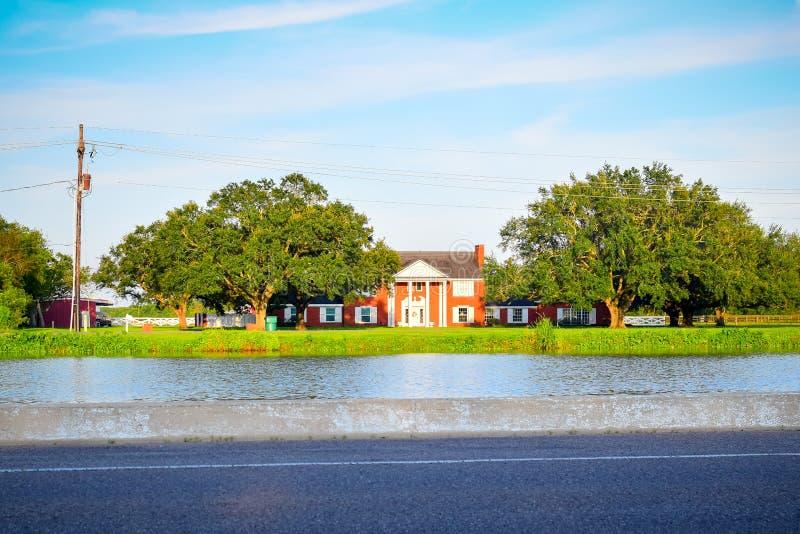 Bayou Lafourche, Louisiana stock images