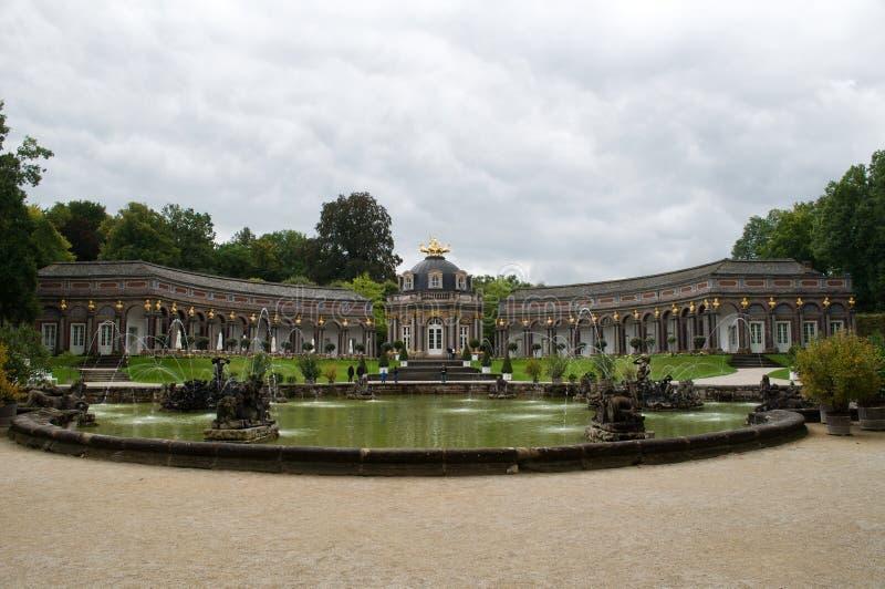 Bayreuth Eremitage royaltyfria bilder