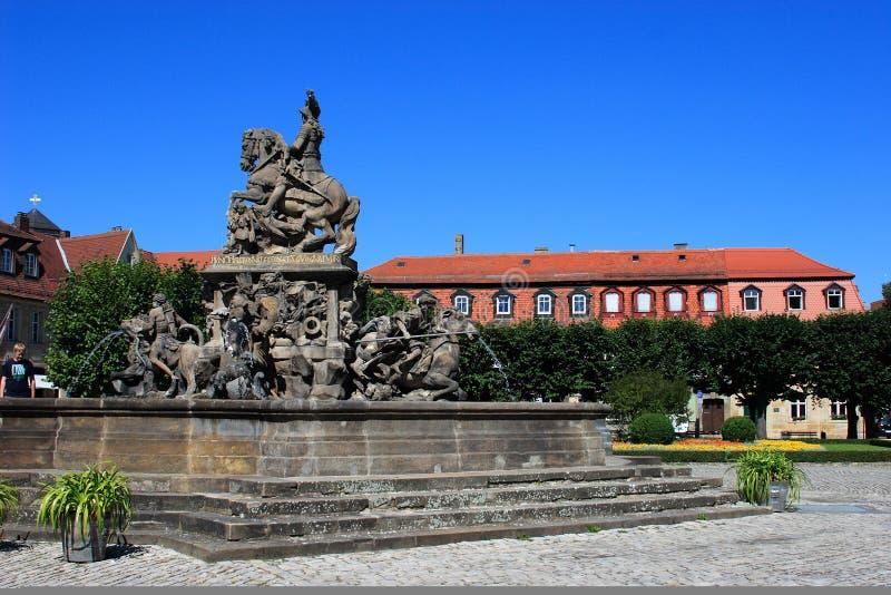 bayreuth fontanny marchion obraz royalty free