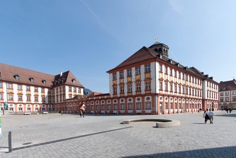 Bayreuth gammal stad fotografering för bildbyråer