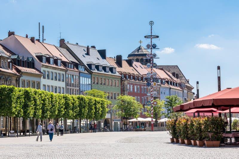 Bayreuth gammal stad royaltyfria bilder