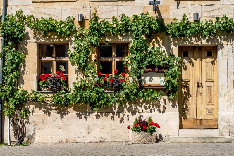 Bayreuth gammal stad arkivfoto