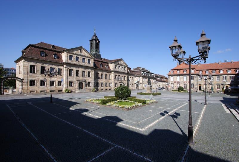 Bayreuth - Jean-paul Platz royalty-vrije stock afbeelding