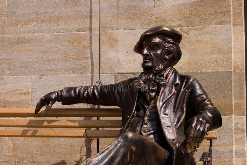 Bayreuth viert Richard Wagner Jubilee stock afbeelding