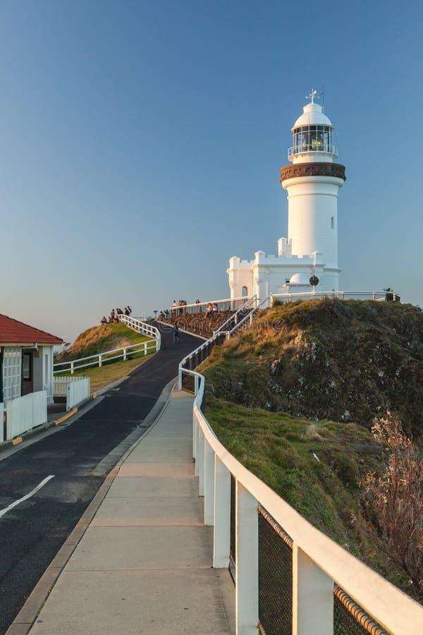 Bayron Bay lighthouse royalty free stock images