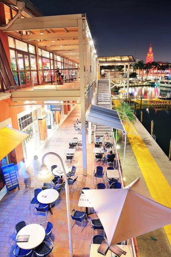 bayside市场迈阿密 免版税图库摄影