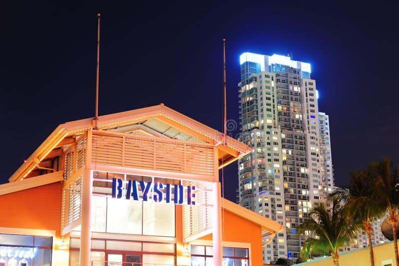 bayside市场迈阿密 库存照片