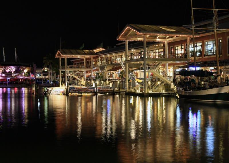 Baysidemarkt in Miami royalty-vrije stock foto