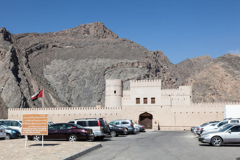 Bayt Ar Ridaydah Castle in Oman stock photo