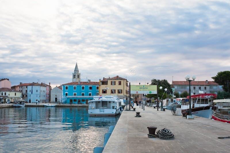Baywalk. Località Di Soggiorno Fazana, Croazia Fotografia Stock ...