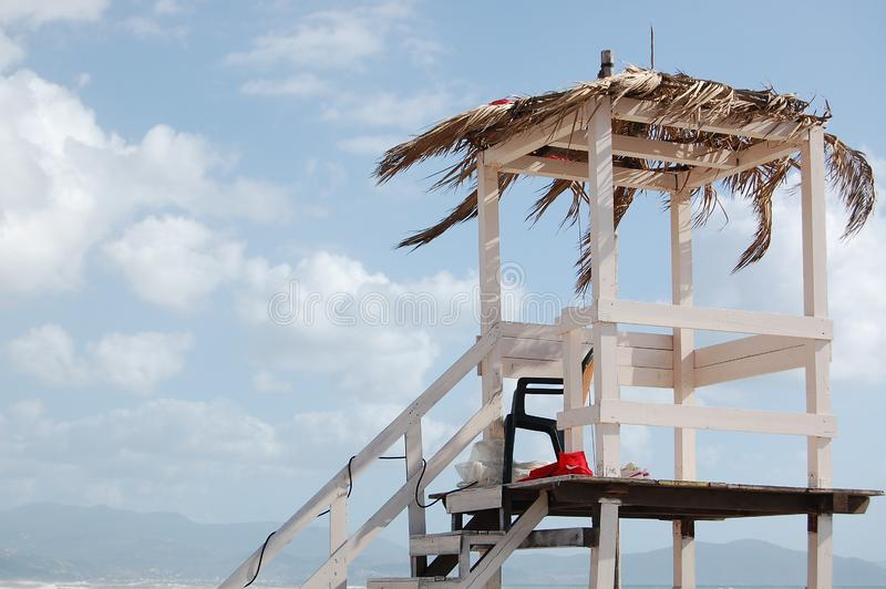 Download Baywatch tower stock photo. Image of tower, observation - 13818876