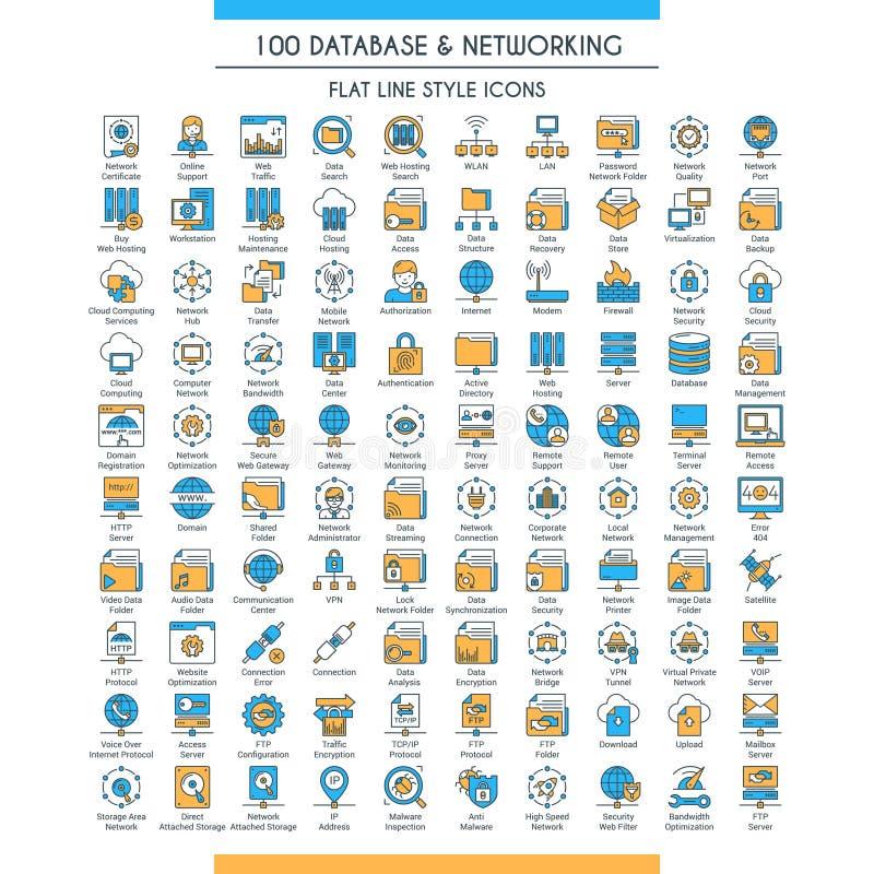 Baza danych duży set ilustracji