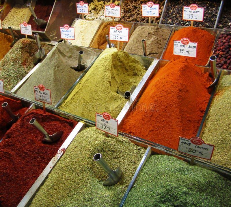 bazaar καρύκευμα Τουρκία της &Ka στοκ φωτογραφίες με δικαίωμα ελεύθερης χρήσης