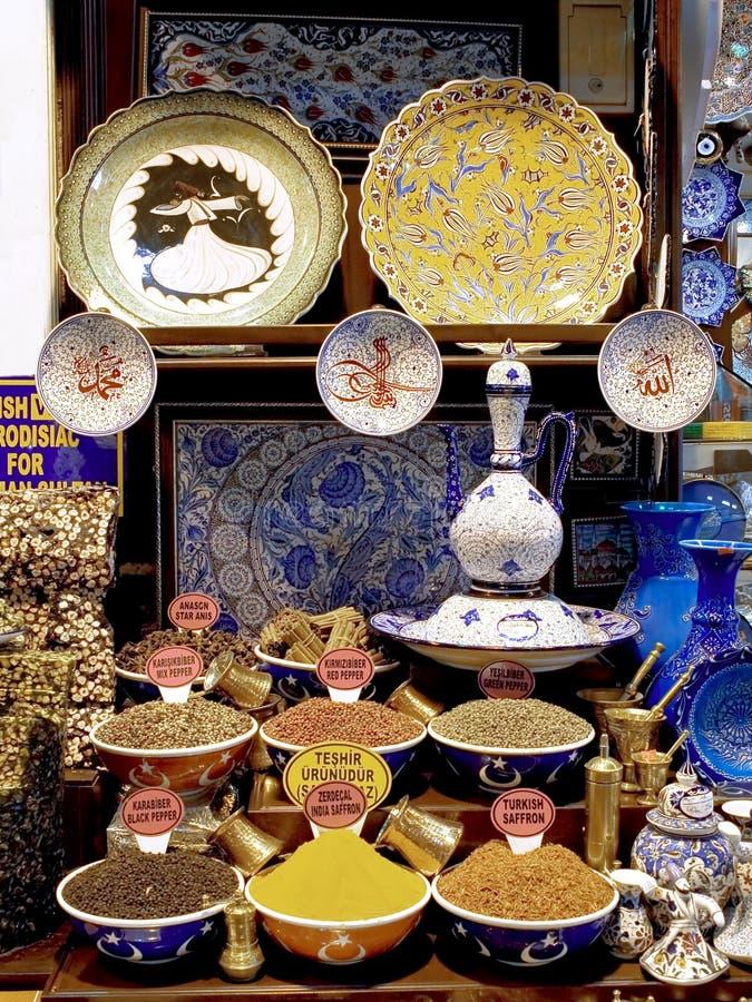 bazaar μεγάλα αναμνηστικά της Κ&o στοκ φωτογραφίες με δικαίωμα ελεύθερης χρήσης