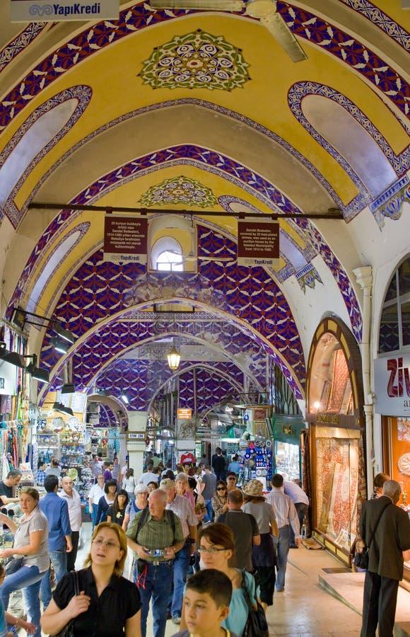 bazaar μεγάλος τουρίστας αγ&omi στοκ φωτογραφία
