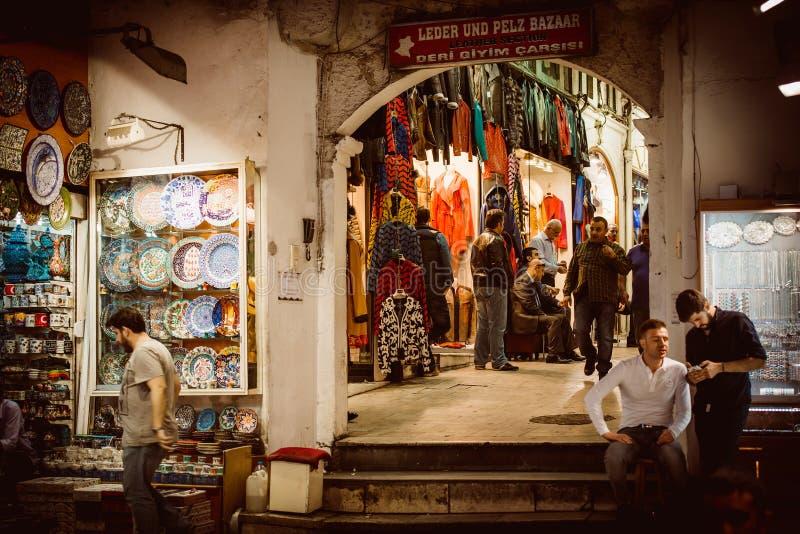 bazaar μεγάλη Κωνσταντινούπολ& στοκ εικόνα