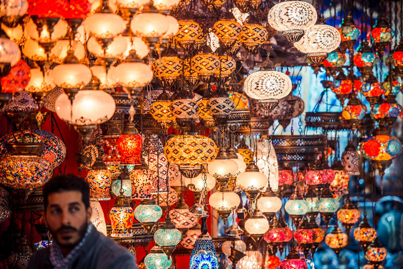 bazaar μεγάλη Κωνσταντινούπολ& στοκ φωτογραφίες