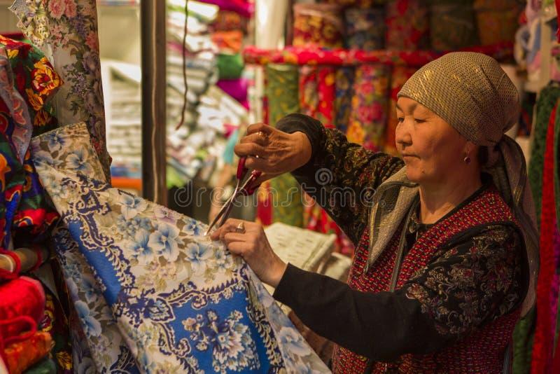 Bazaar OSH stock fotografie